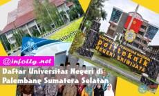 Permalink to Daftar Universitas Negeri di Palembang Sumatera Selatan Terbaik