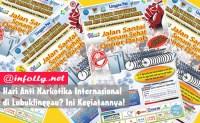 Hari Anti Narkotika Internasional di Lubuklinggau Ini Kegiatannya
