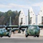 Dwa C-130J w drodze do Korei Południowej