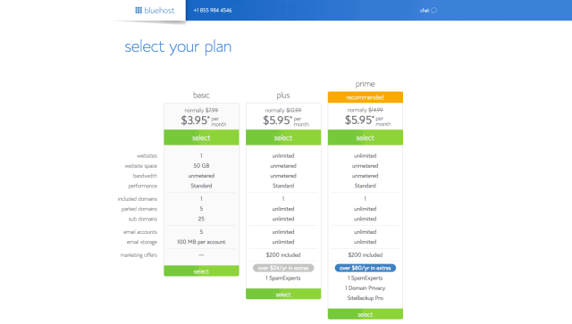 Select Plan