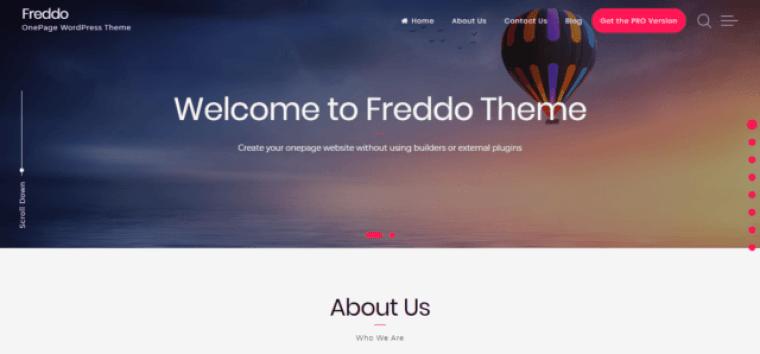 Freddo-theme