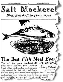 Max Sackheim Ad #3: The Gloucester Fisherman