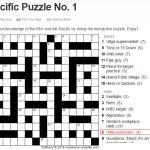 Pacific Puzzle No. 1