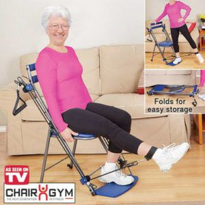 gym chair as seen on tv high for dogs total body workout seniors