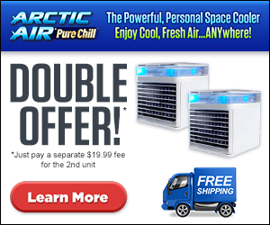 As Seen On TV Arctic Air Cooling Device