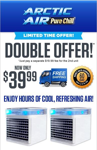 Arctic Air Cooler TV Offer