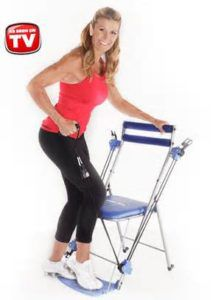gym chair as seen on tv inflatable canadian tire total body workout for seniors