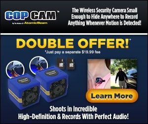 Cop Cam Double Offer