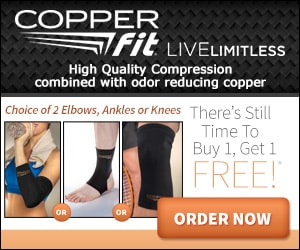 copper fit sleeves