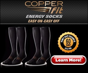 copper fit energy socks easy on easy off