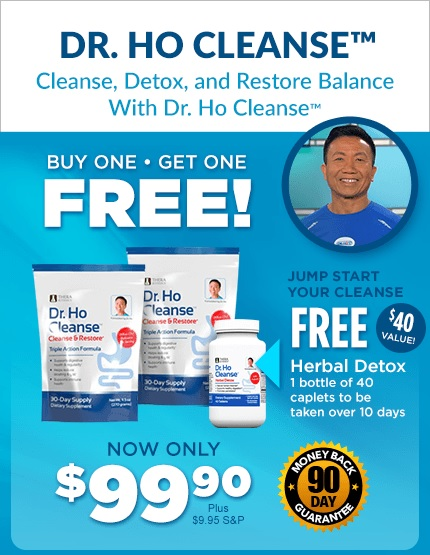 Dr. Ho Special Offer Cleanse Kit