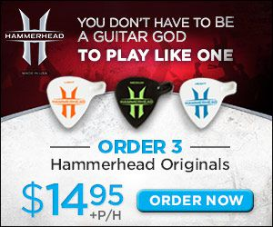 Hammerhead Guitar Picks