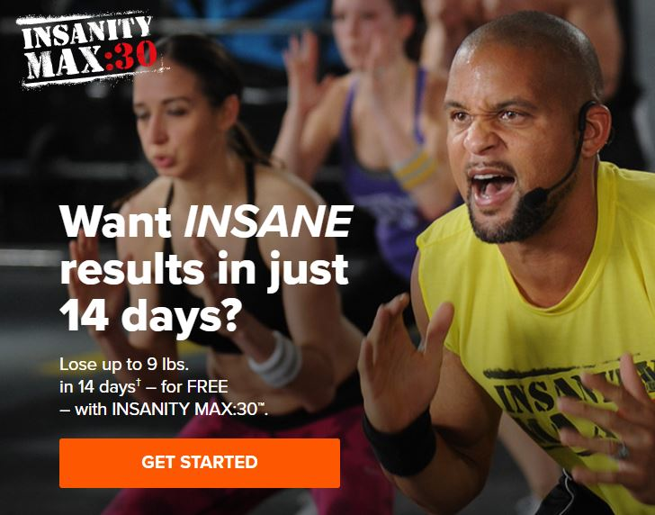 Insanity Max 30 Streaming Online Workout
