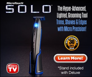 microtouch solo grooming tool