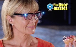 Mighty Sight Glasses with Led Light