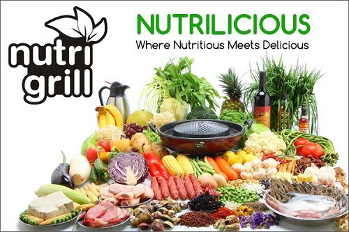 Nutrigrill Electric Grill BBQ