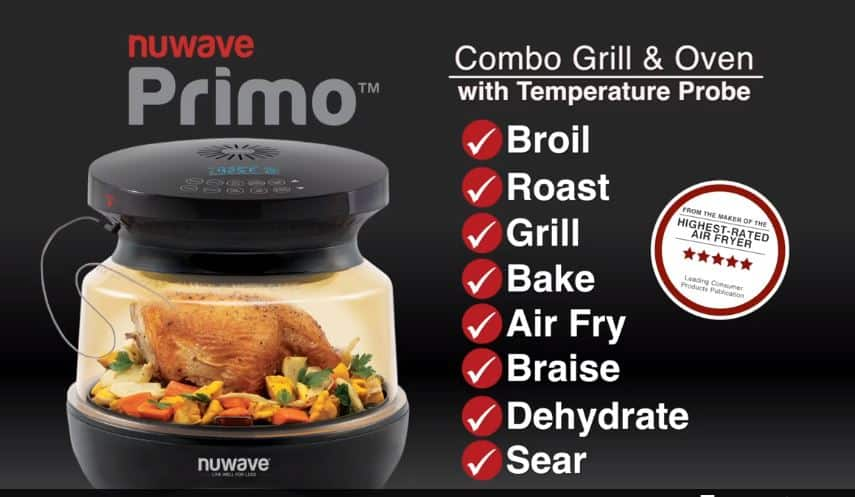 Nuwave Primo Air Fryer, Grill, Oven