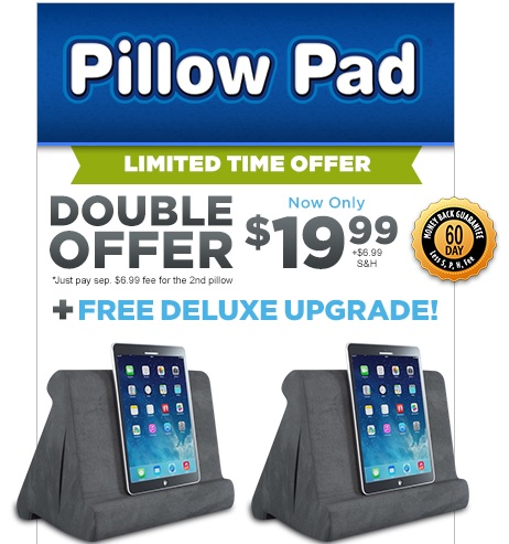 Pillow Pad TV Offer