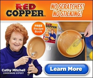 Cathy Mitchell's Red Copper Pan