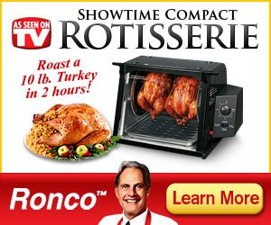 ronco showtime rotisserie compact