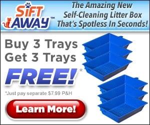 sift away 3 tray litter box