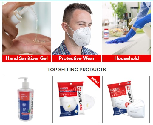 SupplyAid Protective Products