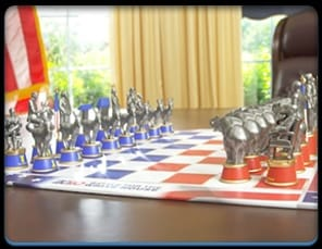 2020 White House Chess Set
