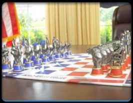 2020 White House Chess Set
