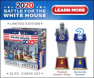 Battle for the White House Chess Set