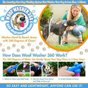 As Seen On TV Woof Washer