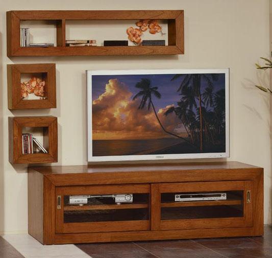 Aparador Mesa TV Puertas Wood  Blog de artesania y decoracion