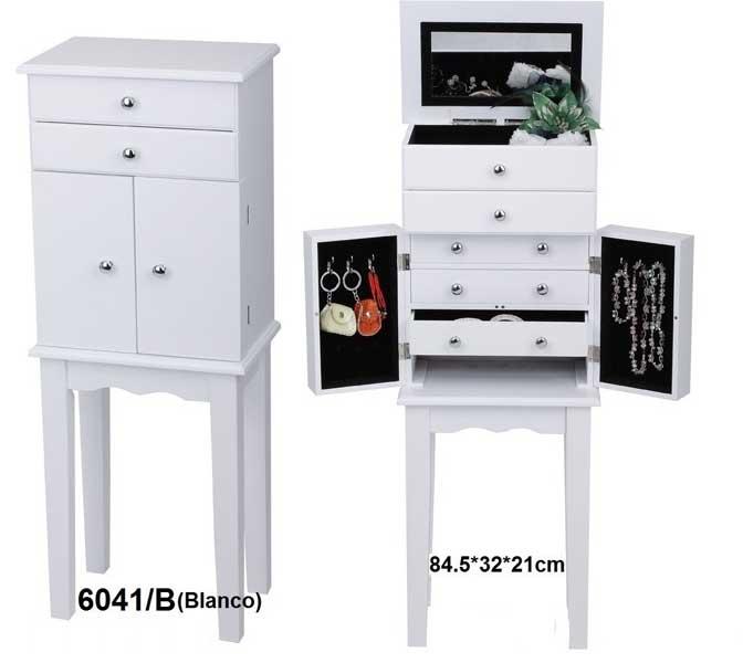 Mueble joyero con pie  Blog de artesania y decoracion