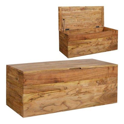 Baul madera de acacia  Blog de artesania y decoracion