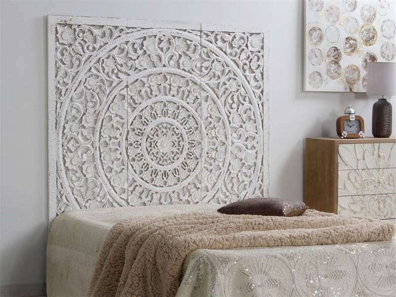 Panel tallado para cabecero mandala oriental  Blog de
