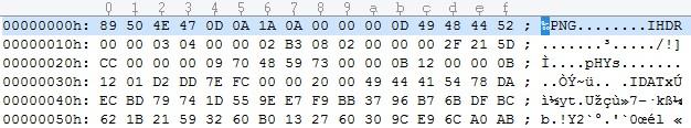 Dateiheader mit Dateisignatur zum Ermitteln des Dateityps
