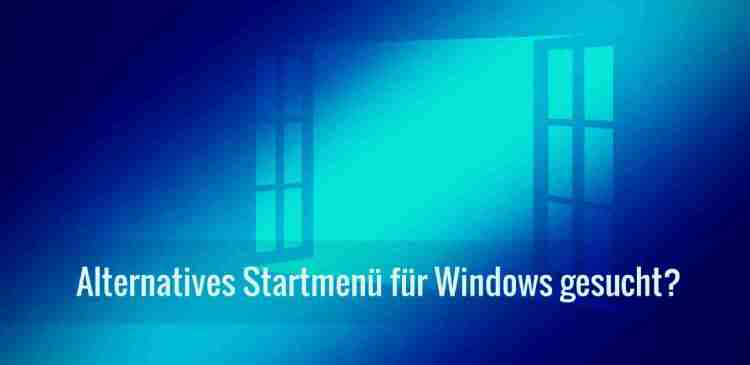 Alternatives Windows Startmenü My Start Menu