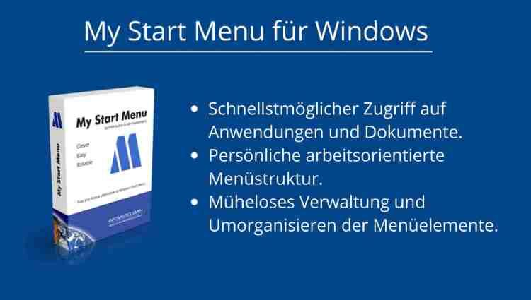 Alternatives Startmenü für Windows