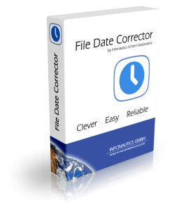 Restore Original Creation Date and Modification Date With File Date Corrector