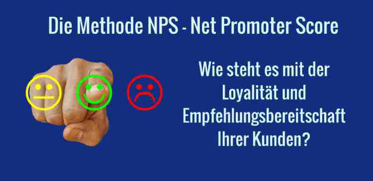 Net Promoter Score zur Messung der Kundenloyalität
