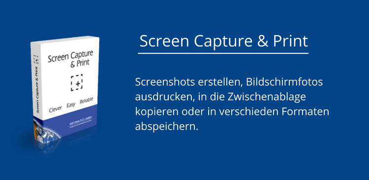 Screen Capture + Print - Kosenloses Tool für Screenshots