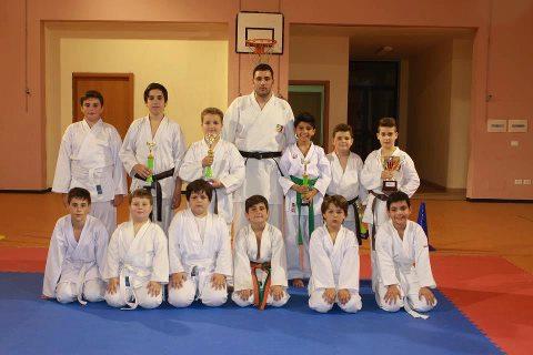 Sporting Club Sant'Antimo, il sogno della cintura nera