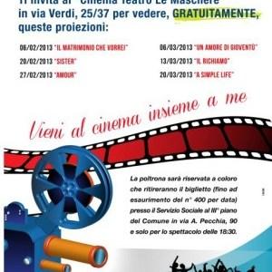 """Iniziativa del Comune di Arzano: sei spettacoli gratuiti al """"Cinema Teatro Le Maschere"""""""