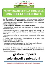 """Arzano, """"Villa del sorriso"""" contro la privatizzazione della villa comunale"""
