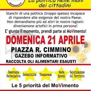 Il Movimento 5 Stelle Arzano si presenta alla città, domenica 21 Aprile gazebo in piazza Cimmino