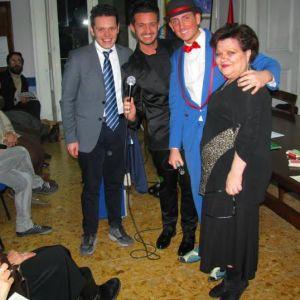 """Tra Poesia, Musica, Magia e Comicità al Centro Studi """"La Contea"""" di Napoli"""