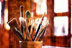 Mostra pittorica e delle arti  femminili  a  cura dell'associazione Pro – Loco santantimese