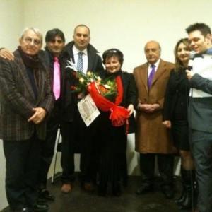 Tina Piccolo, grande successo alla Feltrinelli Point