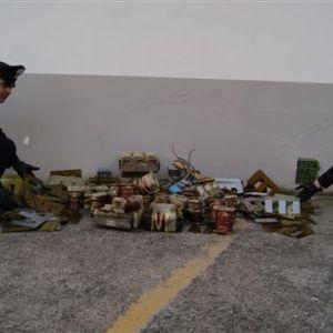 Black out elettrico al cimitero. In tre rubano 42 accumulatori di corrente. Bloccati ed arrestati.