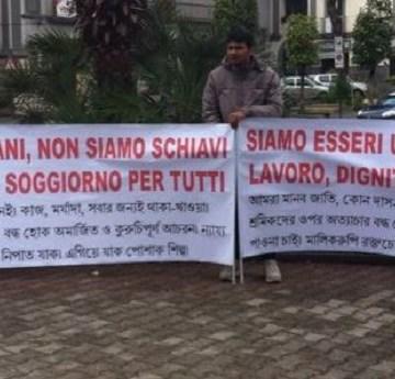 Sant'Antimo, contro la schiavitù e lo sfruttamento gli immigrati non mollano. Domenica nuova manifestazione