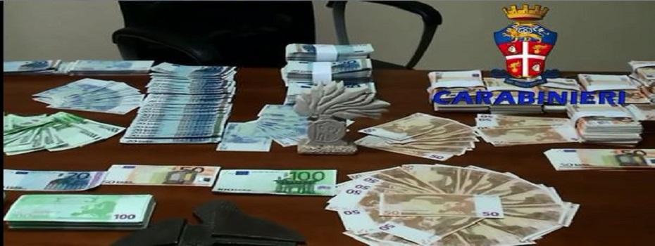 Napoli, scoperta filiera del falso con sedi su tutto il territorio nazionale. Un milione di euro di banconote sequestrate. Guarda il video